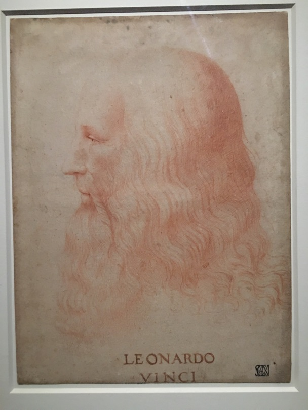 Leonard de vinci exhibition paris